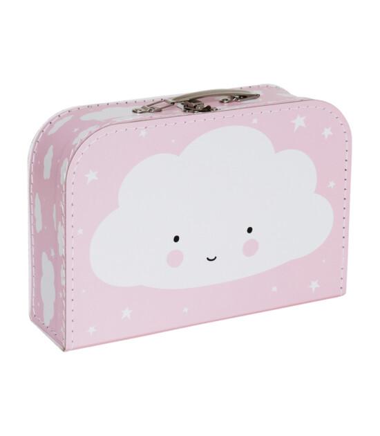 A Little Lovely Company Çocuk Bavul (Pembe Bulut)