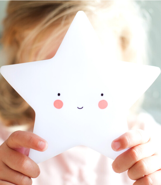 A Little Lovely Company Mini Lamba Yıldız (Beyaz)