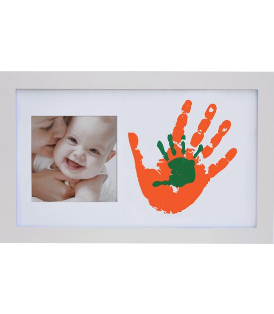 Baby Memory Prints Aile Çerçevesi (Beyaz)