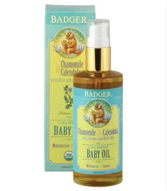 Badger Baby Oil / Bebek Yağı (118 ml)