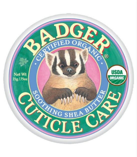 Badger Balm Cuticle Care / Tırnak Bakımı 21gr