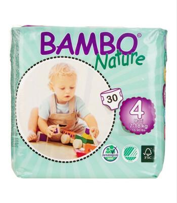 Bambo Nature No:4 Maxi // 7-18 kg (30 Adet)