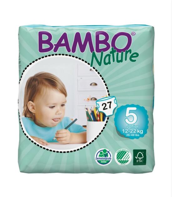 Bambo Nature No:5 Junior // 12-22 kg (27 Adet)