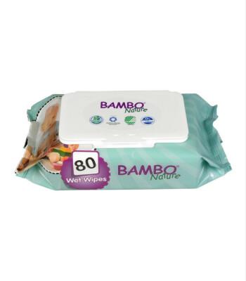 Bambo Nature Islak Mendil (80 Yaprak)