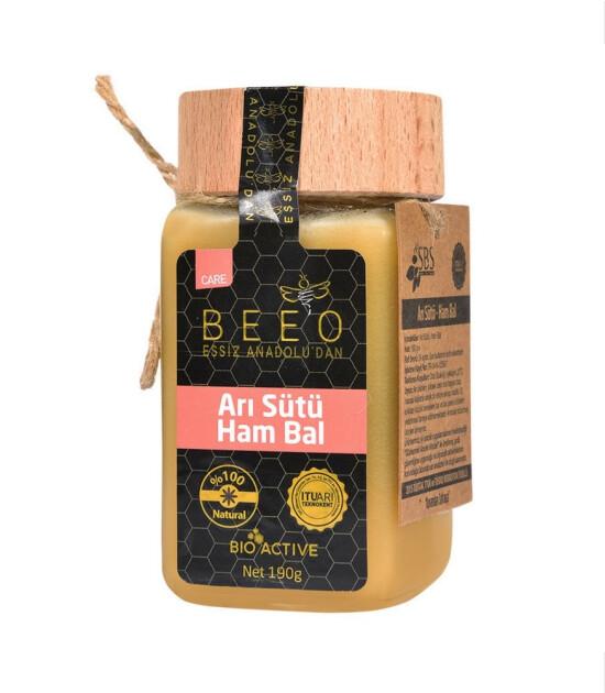 BEE'O Arı Sütü & Ham Bal Karışımı (190 g)