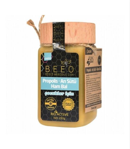 BEE'O Propolis & Arı Sütü & Ham Bal Karışımı // Çocuk (190 gr)