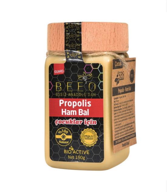 BEE'O Propolis & Ham Bal Karışımı // Çocuk (190 g)
