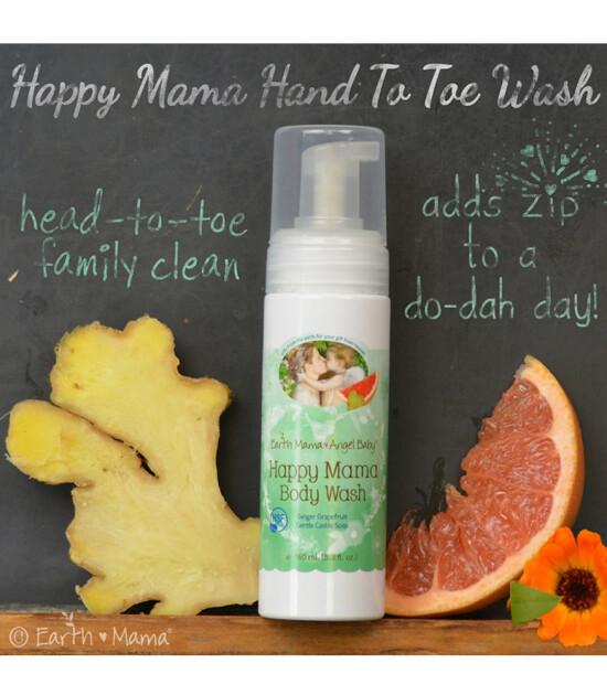 Earth Mama Angel Baby Happy Mama Vücut Şampuanı (160 ml)