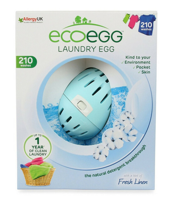 Ecoegg Ekolojik Mineralli Çamaşır Deterjanı // Taze Keten (210 Yıkama)