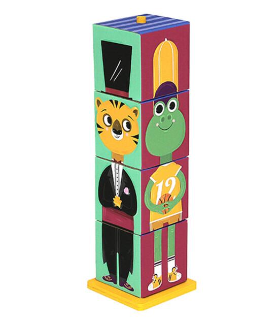 Krooom Stack & Match 3D Küpler - Hayvancıklar