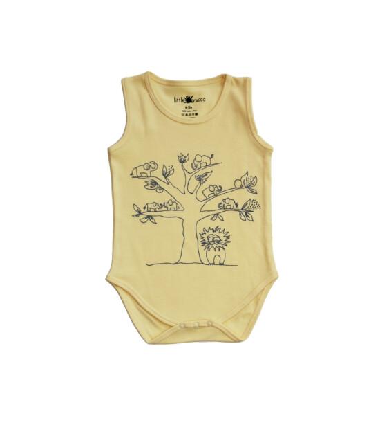 Little Yucca Flash Kolsuz Body (Sarı)