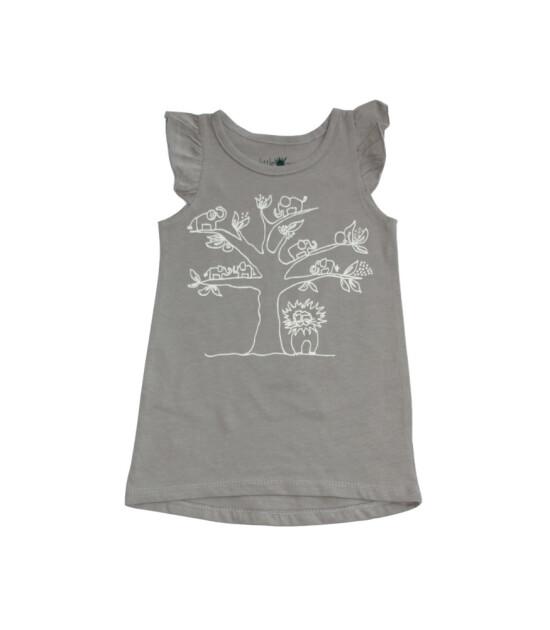 Little Yucca Flutter Elbise (Füme)