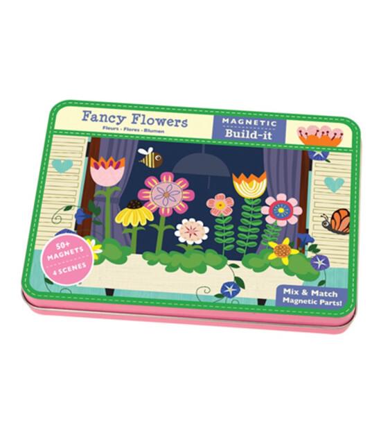 Mudpuppy Göz Alıcı Çiçekler Magnet Seti (6 Yaş+)