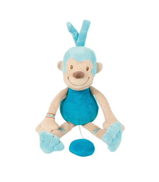 Nattou Jungle Mini Müzikli Peluş Maymun (25 cm)