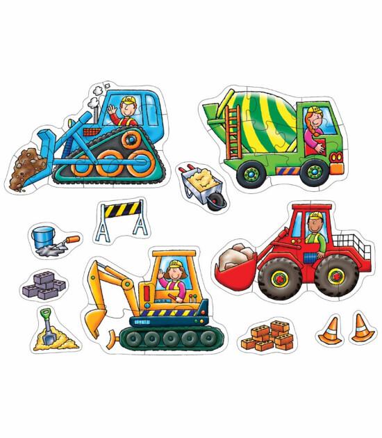 Orchard Toys Büyük Tekerlekler Puzzle