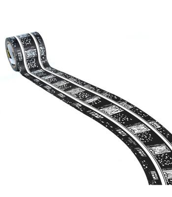 PlayTape Klasik Demiryolu Serisi Geniş Viraj Yol Bandı - Siyah (2in)