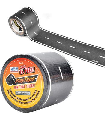 PlayTape Klasik Yol Serisi Yol Bandı - Siyah (15ftx2in)