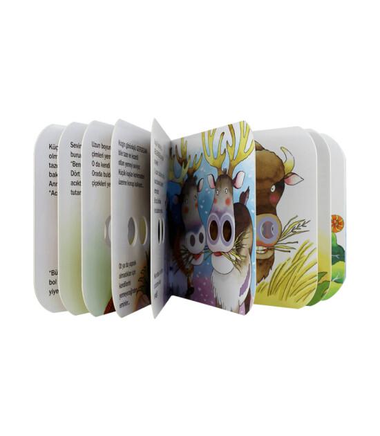 Delikli Kitaplar // Ot Yemeye Bayılırım!
