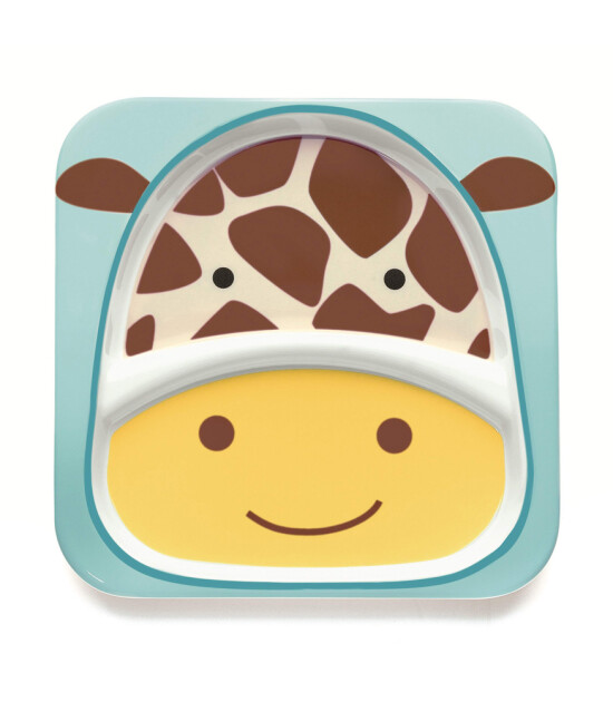 Skip Hop Zoo 2 Bölümlü Geniş Tabak (Zürafa)