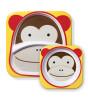 Skip Hop Zoo Tabak ve Kase Seti (Maymun)