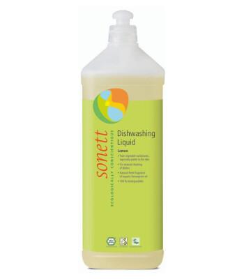 Sonett Organik Elde Bulaşık Yıkama Sıvısı (Limonotu) - 1 Lt