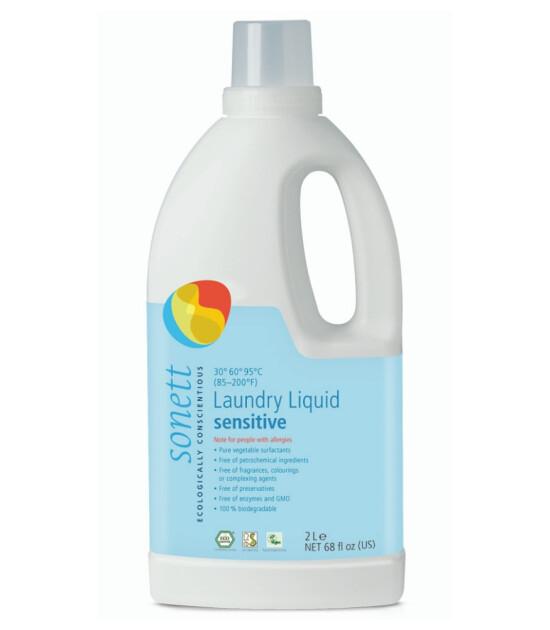Sonett Organik Nötral Çamaşır Yıkama Sıvısı - Hassas (2 lt)