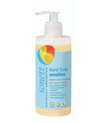 Sonett Organik Nötral Sıvı El Sabunu - Hassas (300 ml)