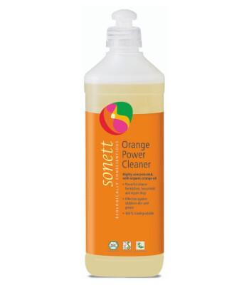 Sonett Organik Portakallı Güçlü Temizleyici - 0.5 Lt