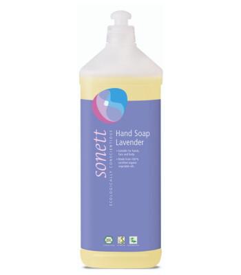 Sonett Organik Sıvı El Sabunu - Lavanta (1 lt)