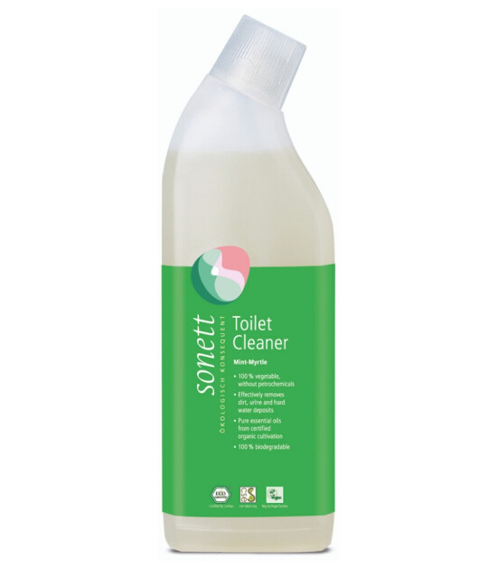 Sonett Organik Nane & Mersin Özlü Tuvalet Temizleyici - 750 ml