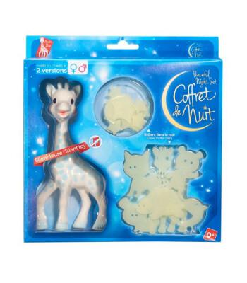 Sophie la Girafe Gece Seti (Mavi)