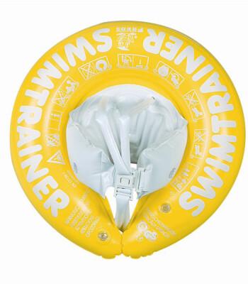 Freds Swim Academy Swimtrainer (4-8 Yaş) Yüzme Simidi (Sarı)