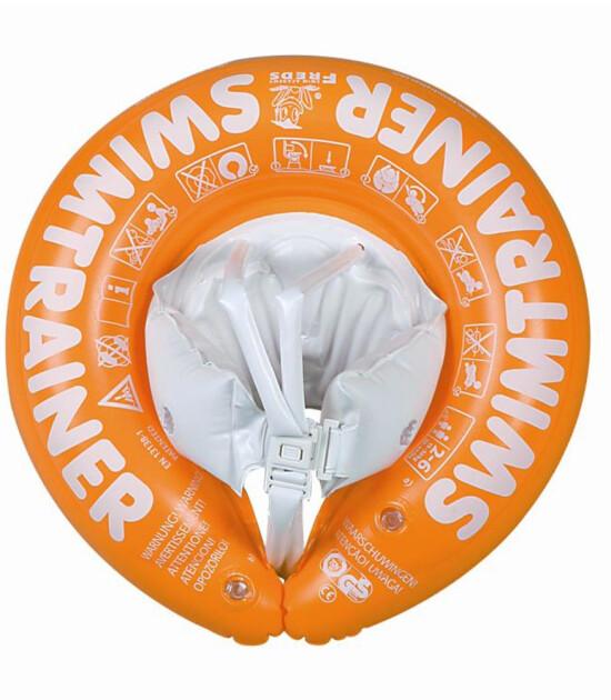 Freds Swim Academy Swimtrainer (2-6 Yaş) Yüzme Simidi (Turuncu)