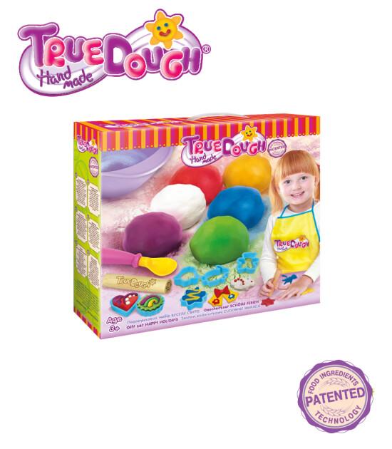 TrueDough Doğal Oyun Hamuru Hediye Seti (Mutlu Tatil)