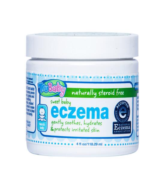 Trukid Trubaby Sweet Eczema Cream for Baby // Bebekler için Tamamen Doğal Egzema ve Hassas Cilt Bakım Kremi (118 ml)