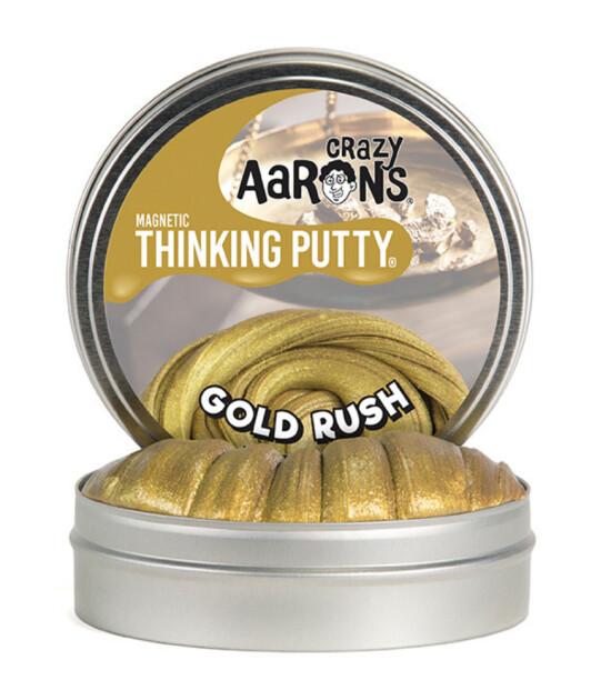 Crazy Aaron's Thinking Putty Super Manyetik Gold Rush (Maxi-90 gr)