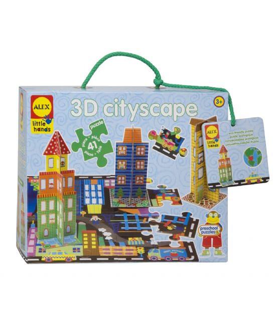 Alex 3 Boyutlu Şehir & Puzzle