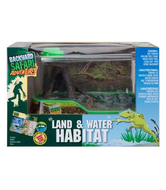 Backyard Safari Bys Kara Ve Su Canlıları Yaşam Alanı