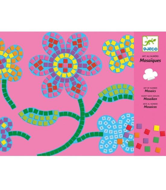 Djeco Mozaik Kart Oyunu // Flowers