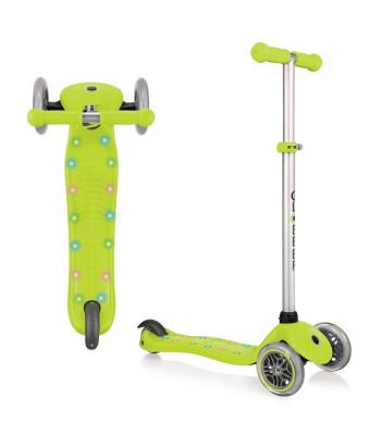 Globber Scooter/Primo Star Işıklı/Yeşil