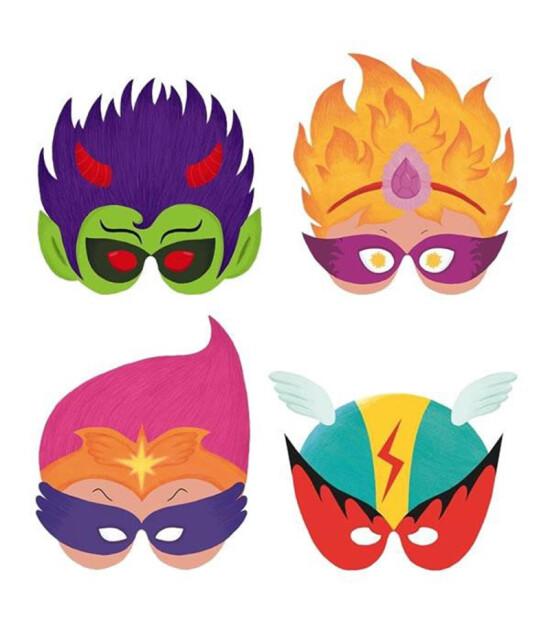Djeco Little Big Room Parti Setleri Super Heroes