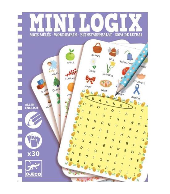 Djeco Mini Logix Kelime Avı // Wordsearch