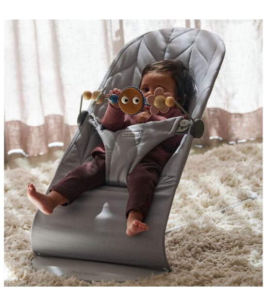 Babybjörn  Bliss Ana Kucağı Petal Cotton Oyuncaklı / Grey