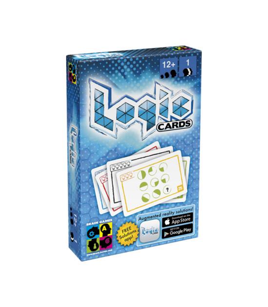 Brain Games Mantık Kartları Mavi (Logic Cards Blue)