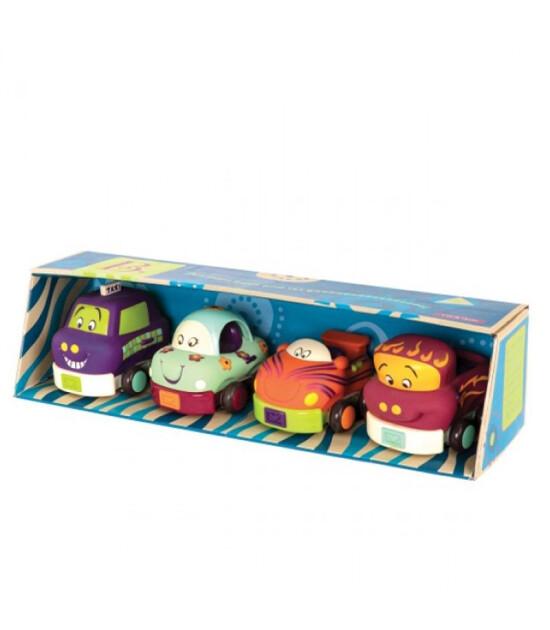 B.Toys 4'lü Araba Seti