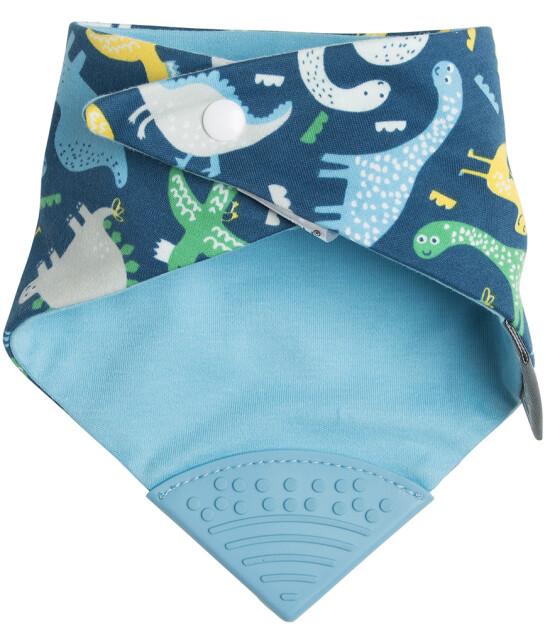 Cheeky Chompers Neckerchew - Diş Kaşıyıcılı Önlük // Baby Dino