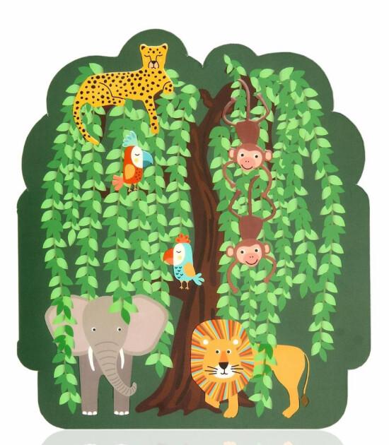 Cheerlabs Ses Kaydeden Hediye Kartı / Wild Jungle