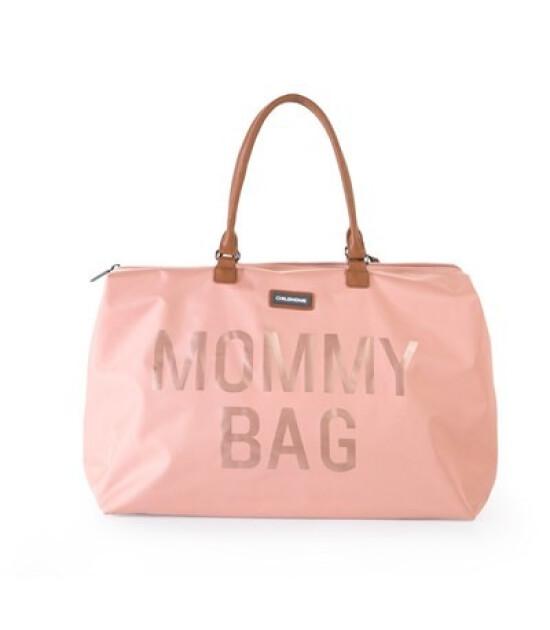 ChildHome Mommy Bag // Anne Bebek Bakım Çantası Büyük Boy (Pembe)