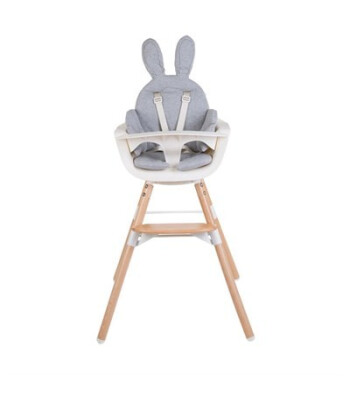 Childhome Tavşan Mama Sandalyesi Minderi Gri