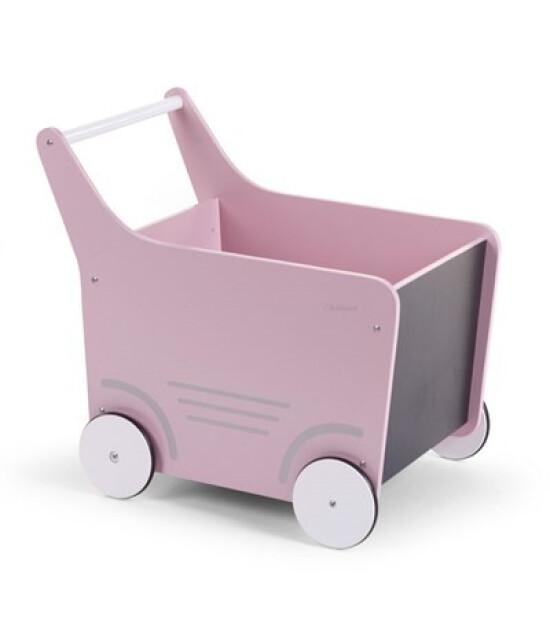 ChildHome Oyuncak Arabası & Yürüteç, Pembe